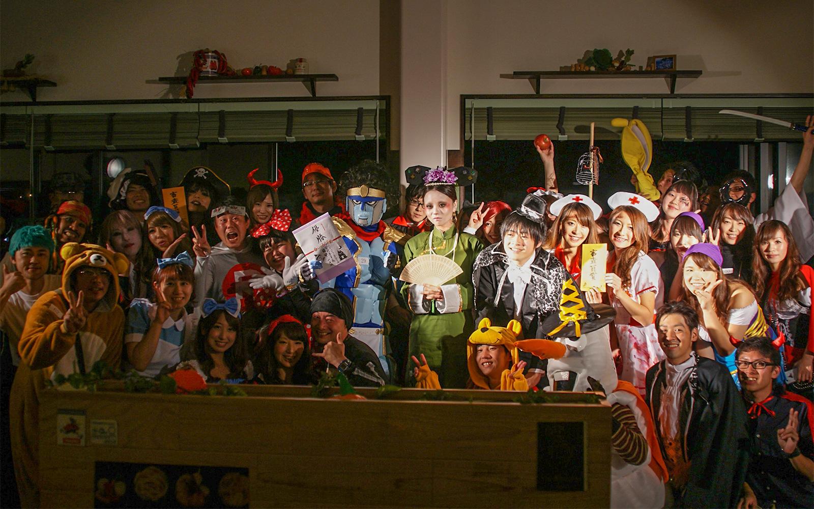にいつハロウィン仮装まつり presents ナイトパーティー in けやき通り 参加者募集!